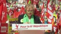 Discours d'Eva Joly - Marche citoyenne pour la 6ème République
