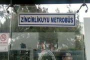 Metrobüs üzerinde ceset