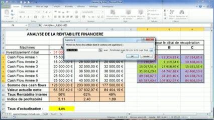 Correction du tp Excel numéro Cinq