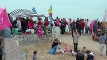 05/05/13 _plage Saint-Raphaël _Manif Pour Tous _pour le retrait de la loi Taubira Mariage pour Tous