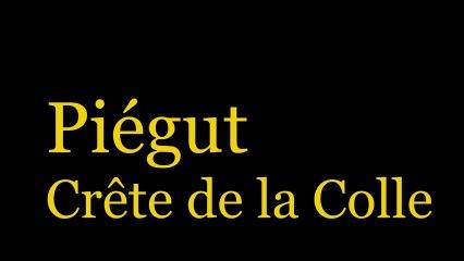 Piégut - Crête de la Colle - HD 720