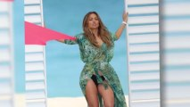 Jennifer Lopez évacuée après des coups de feu sur le plateau de son clip