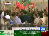 Imran Khan Visits Mazaar-e-Quaid - 7th May 2013