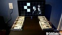 Daft Punk - Aerodynamic sur 8 lecteurs disquettes