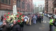 A Day With Mary #67: Procession of Our Lady. Westminster Cathedral