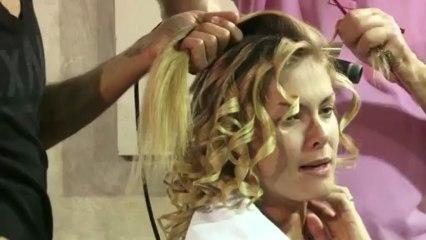 Marco Antonio de Biaggi ensina como conseguir os cabelos de Ana Hickmann