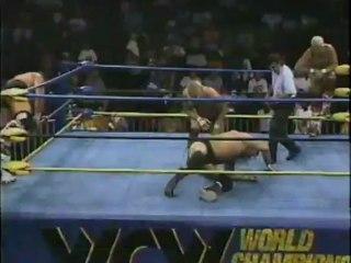 61. 92-10-03 Steve Williams & Terry Gordy vs. Barry Windham & Dustin Rhodes (WCW Saturday Night)