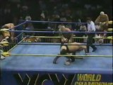 61. 92-10-03 Steve Williams & Terry Gordy vs. Barry Windham & Dustin Rhodes (WCW Saturday Night)