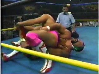 62. 92-05-17 Rick & Scott Steiner vs. Tatsumi Fujinami & Takayuki Iizuka (WrestleWar)