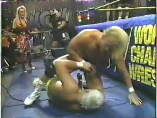 64. 91-10-27 Steve Austin vs. Dustin Rhodes (Halloween Havoc)