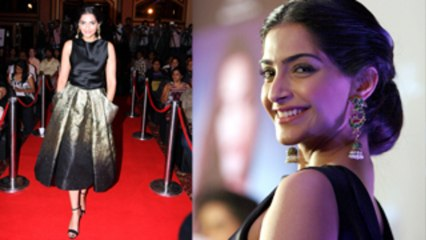 Sonam Kapoor's Look revealed- Canne Film Festival 2013