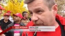 Warnstreiks in Deutschland - der Tarifstreit geht weiter | Made in Germany