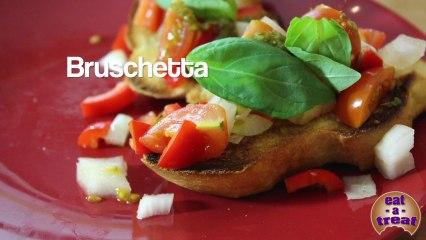 Bruschetta with Tomato & Basil Recipe