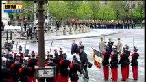 Commémorations du 8 mai: la journée de François Hollande - 08/05