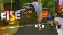 Julien Bechet - 1st place Qualif - Skate - FISE World Montpellier 2013