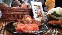Sculpture sur fruits et légumes (carving) : Exposition ferme des aigrettes (mars 2013) à Mark en Calaisis