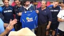 Quarto (NA) - Tommasi visita il Quarto Calcio -2- (07.05.13)