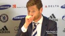 Andre Villas-Boas reaction Chelsea vs Tottenham