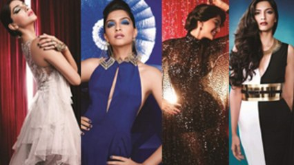 Sonam Kapoor's Glamorous Looks From L'Or Sunset Cannes Collection