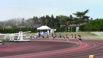 「第39回下越陸上競技選手権大会」 中学女子4×100mリレー  決勝