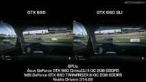 Project CARS Build 464 - GTX 660 vs GTX 660 SLI - 1080p