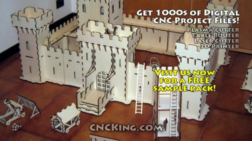Medieval Castle Village & Siege Weapons: Proof of Concept