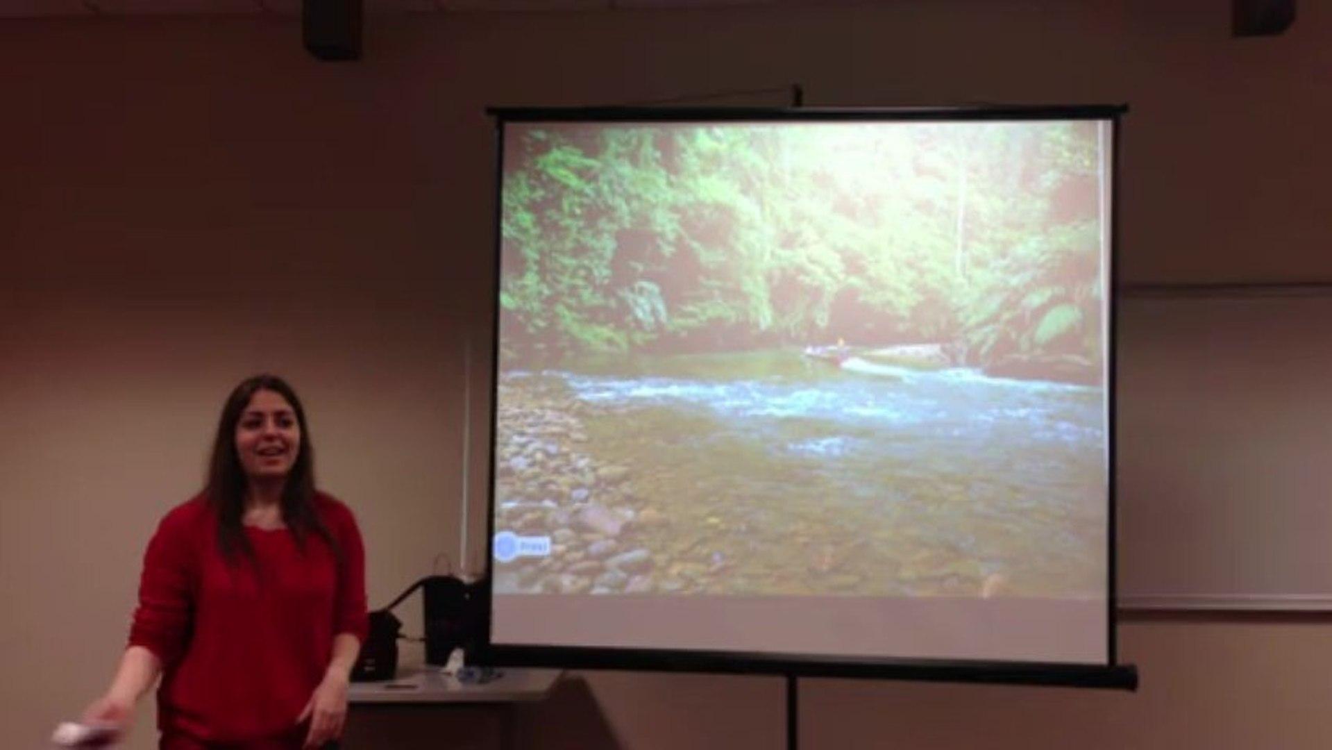 Listening and speaking class presentation video Dila Ege Ecem