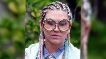 Ke$ha Predictably Films 'Crazy Kids' Looking Like a Lunatic