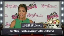 Carrie Ann Inaba and Skinny Cow Candy