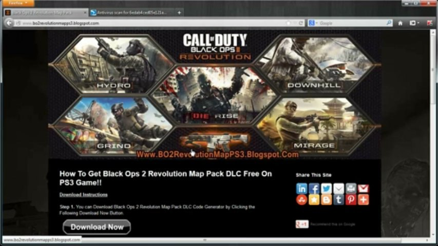Call of Duty: Black Ops 2 Revolution Map Pack DLC Free Download