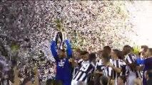 Premiazione Juventus Campione d'Italia 2013
