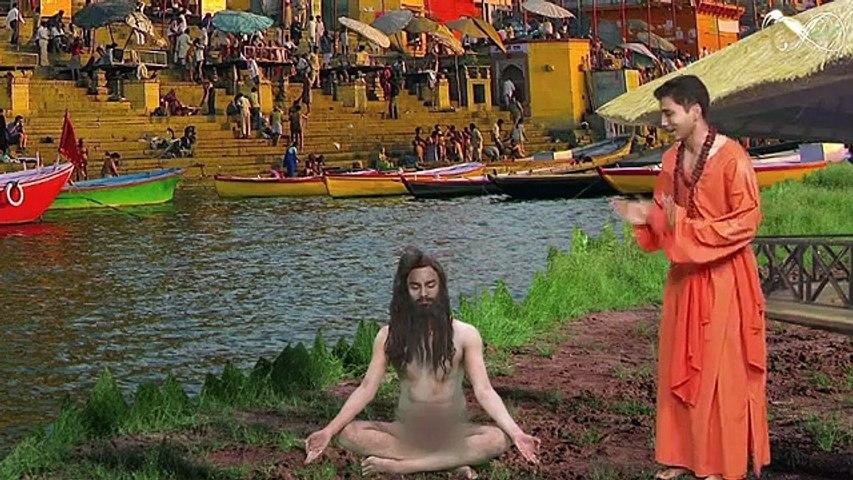 Poonam Pandey Meets Naga Baba