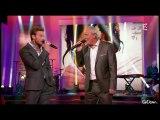 M.POKORA & Maxime Le Forestier - Etre né quelque part et interview Robin des Bois @ Champs Elysées du 11.05.2013  ♥