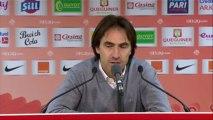 Conférence de presse Stade Brestois 29 - FC Sochaux-Montbéliard :  (SB29) - Eric HELY (FCSM) - saison 2012/2013