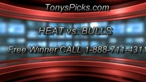 NBA Playoff Pick Game 4 Chicago Bulls vs. Miami Heat Odds Prediction Preview 5-13-2013
