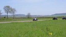 Roulage à Pouilly en Auxois avec G2R