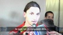 """Zlatan Ibrahimovic : """"Il me reste deux ans de contrat"""""""