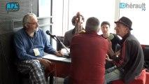 Pézenas: Printival Journée 3 Hé v'nez les potes - Interview Raoul Petite (Partie 1)