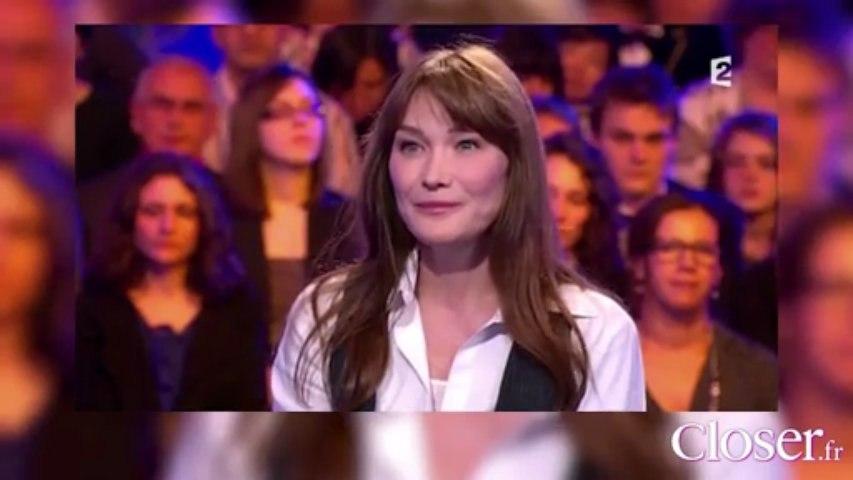 Le Zapping  de Closer.fr : Carla Bruni parle de son amour pour Nicolas Sarkozy sur France 2