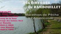 Pêche  6h Rambouillet 2013 1 ere Manche