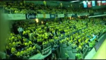 Ambiance avant match Metz Handball - Holstebro / Finale handball féminine retour coupe EHF 2013