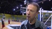 Vincent Collet, l'entraîneur de Strasbourg avant JDA Dijon