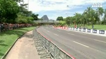 F1, una Ferrari a 300 kmh a Rio