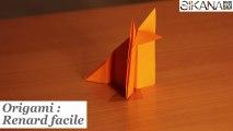 origami facile : Renard en papier - HD