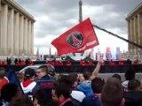 En attendant le PSG Champion de France 2013 au Trocadéro