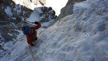 Couloir Macho Direct Mont-Blanc du Tacul massif du Mont-Blanc