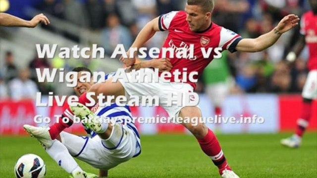 Football Arsenal vs Wigan Athletic Barclays Premier League 14-05-2013 Live
