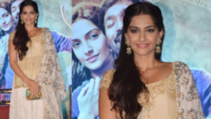 Sonam Kapoor Looks Fabulous In Ghagra Choli
