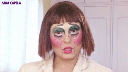 FREAKY Doll Halloween Makeup Tutorial