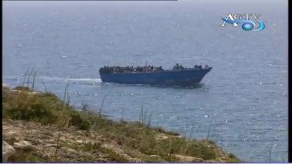 Porto Empedocle sbarco di clandestini new-AGTV.mp4
